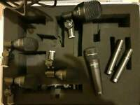 Audix Microphones and stand