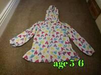 Girls hoodie age 5-6