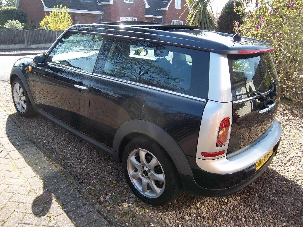 2008 Mini Cooper Clubman Pan Roof Private Plate Half Leather Only