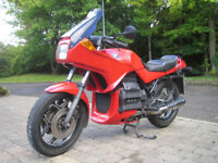 BMW K75S IN VERY ORIGINAL CONDITION.