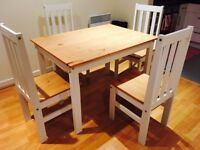 Dining Table Set with 4 chairs.