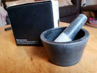 Marble mortar and pestle - John Lewis