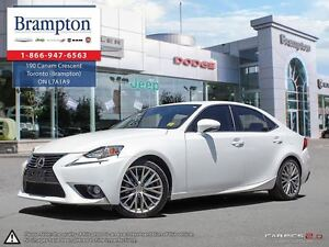 2014 Lexus IS 250 BASE | 1 OWNER | AWD | LOADED |