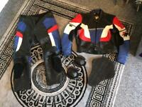 Super bike leathers good condition