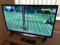"32"" HD JVC TV - Broken/Cracked LCD Screen"