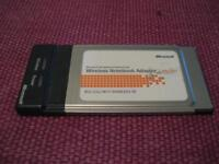 Microsoft Wireless PC Card
