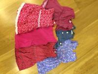 Six Beautiful girls' dresses size 6-9 months