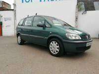 02 Vauxhall Zafira 1.8 16v Club Automatic 7 Seater MPV Family Car Cheap Auto Galaxy Sharan Alhambra