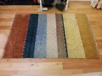 FREE: Two used rugs (Ikea INDO GABBEH and Ikea KATTRUP)