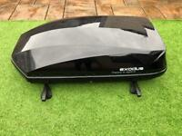 Exodus 470L Roof Box Gloss Black