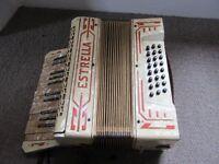 Estrella Piano Accordian . Beautiful instrument.