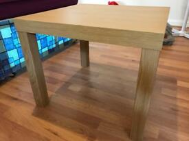 Wooden square table 2by2