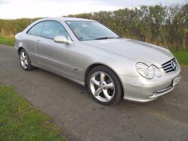 2005 Mercedes 240 CLK 2.6 Avantgarde Auto, 9 MOT, 122k miles, FSH, Beautiful Condition & Drive