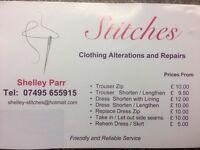 Clothing Alterations and Repairs - Hanham, Bristol