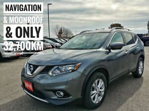2016 Nissan Rogue SV AWD Moonroof & Technology  FREE Delivery