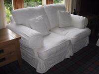 5 Piece white/cream suite