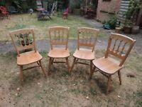 4 Kitchen/dining chairs