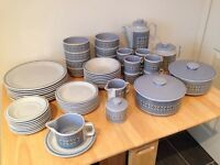 Vintage Hornsea Tapestry Dinner and Tea/Coffee Set