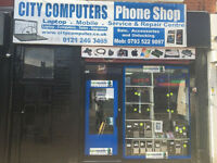 On-site Laptop/PC/Tablet/Phones/Repairs & Upgrades/ iphone screen repairs B12 8UY