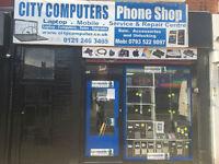On-site Laptop/PC/Tablet/Phones/Repairs & Upgrades/ iphone screen repairs B12 8UY