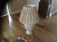 Table lamp as new