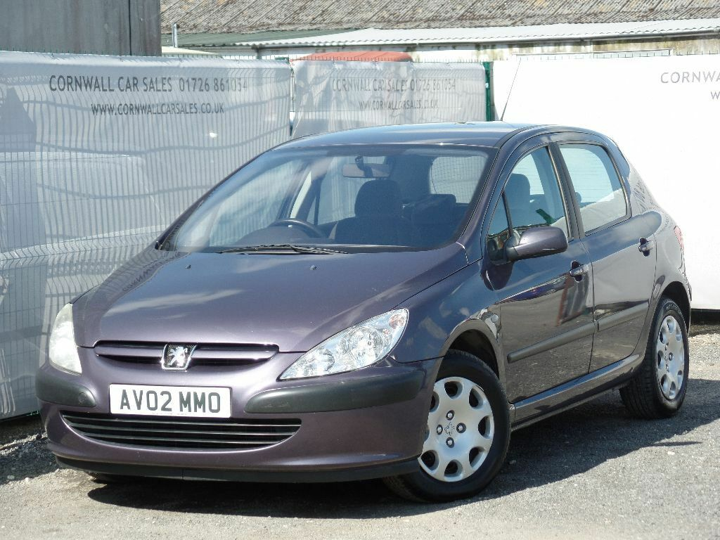 2002 peugeot 307 2.0 hdi lx 5dr purple | in newquay, cornwall