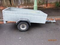 fully galvanized trailer