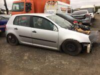 Volkswagen Golf diesel spare parts available doors rear bumper seats