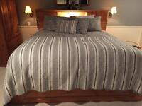 Solid Pine King Size Captain bed