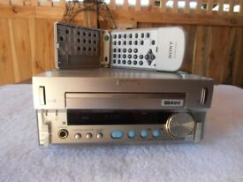 SONY HCD-SD1 COMPACT DISC CD RECEIVER AMPLIFIER RDS TUNER RADIO.