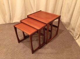 G Plan Teak Nest Of Tables - Occasional Tables - Coffee Table - Retro / Vintage - See Delivery