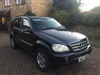 2004 MERCEDES ML270 CDi AMG KIT 7 SEATER AUTOMATIC