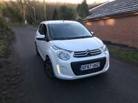 2017 67 CITROEN C1 1.2 FLAIR 5 DOOR WHITE DAMAGED REPAIRED 108 AYGO C1 BARGAIN DELIVERY AVAILABLE