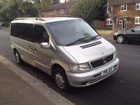 Mercedes V230 Vito V Class similar V220 V280 Dayvan Minibus People Carrier Camper Surf Van Export