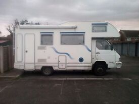 Reduced For Quick Sale - NISSAN TRADE FREUND 5 BERTH MOTIRHOME