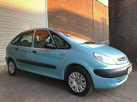 CITROEN XSARA PICASSO LX WITH NEW 12 MONTHS MOT LOVELY CAR.......