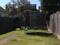 14ft trampoline great condition not even a year old yet!