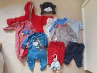 Baby Boy Autumn / Winter Bundle 0-6 Months, excellent condition, (with some Next items)