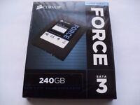 Brand New in box Corsair CSSD-F240GB3-BK Force Series 3 240GB Solid State Drive