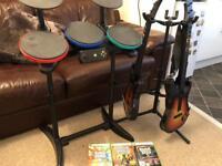 Guitar / Band Hero Xbox 360