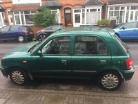 Nissan Micra moted low mileage with electrics 2002
