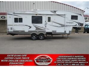 2009 Forest River SANDPIPER 295RGBS REAR KITCHEN, BIG SLIDES HIG