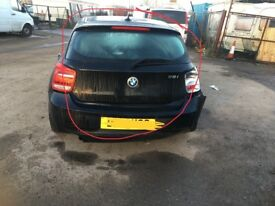 2011 2012 2013 2014 2015 BMW 118D 120D 116i 118i Tailgate in black F20 F21 Breaking All Parts
