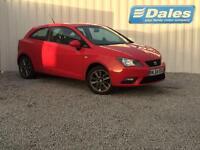 Seat Ibiza 1.2 TSI I Tech 3Dr Hatchback (red (emocion)) 2015