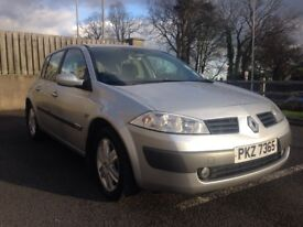 2005 Renault Megane 1.5 Engine Diesel (£30 Road Tax)