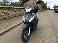 Honda vision 110cc Matt grey 2015 super low mileage hpi clear!!!