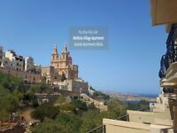Seaside Apartments Malta Mellieha Village Stunning Views