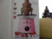 Pink Chocolate Fountain (Boxed, Used Once).