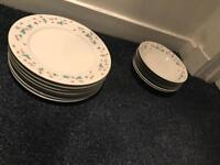 Matching Dinner plates and bowls