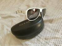 New Guess sunglasses white